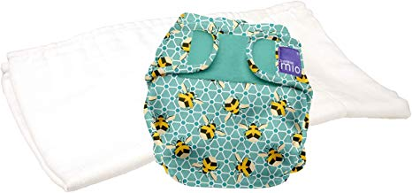 Bambino Mio, Miosoft Reusable Nappy Trial Pack, Bumble, Size 2 (9kg+)