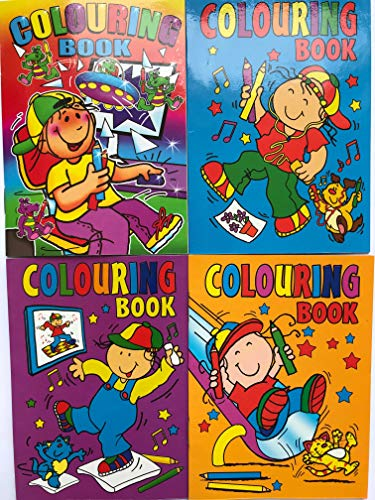 10 x A6 MIXED COLOURING BOOKS