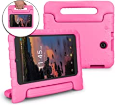 Bolete Case for T-Mobile Alcatel Joy Tab 8 2019 / Alcatel 3T 8-inch Tablet Case 2018 - Childproof Rugged Protective Handle with Stand Kids Cover for Alcatel A30 8