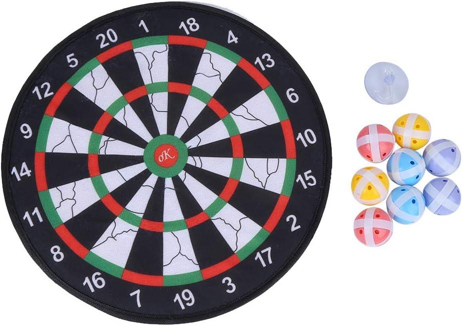 Demeras Lightweight Safe Dart Board Game Throwing Stick Ball Sti