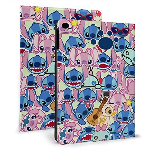Xinglingba Lilo Sti-tch iPad air1/2 9.7' ipad mini4 / 5 7.9-inch Protective case ipad 2017/2018 9.7inch & ipad air 1/2 9.7inch Smart Cover Automatic Wake/Sleep