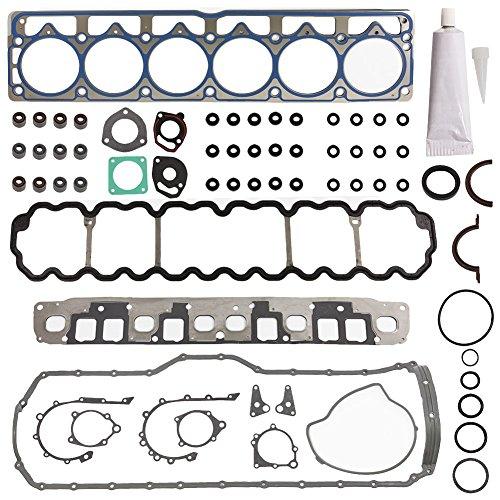 Head Gasket Set Kit Engine Cylinder Fit HS9076PT-4 CS8169-4 for Jeep Cherokee Grand TJ Wrangler 1999 2000 2001 2002 2003 L6 4.0 by DOICOO