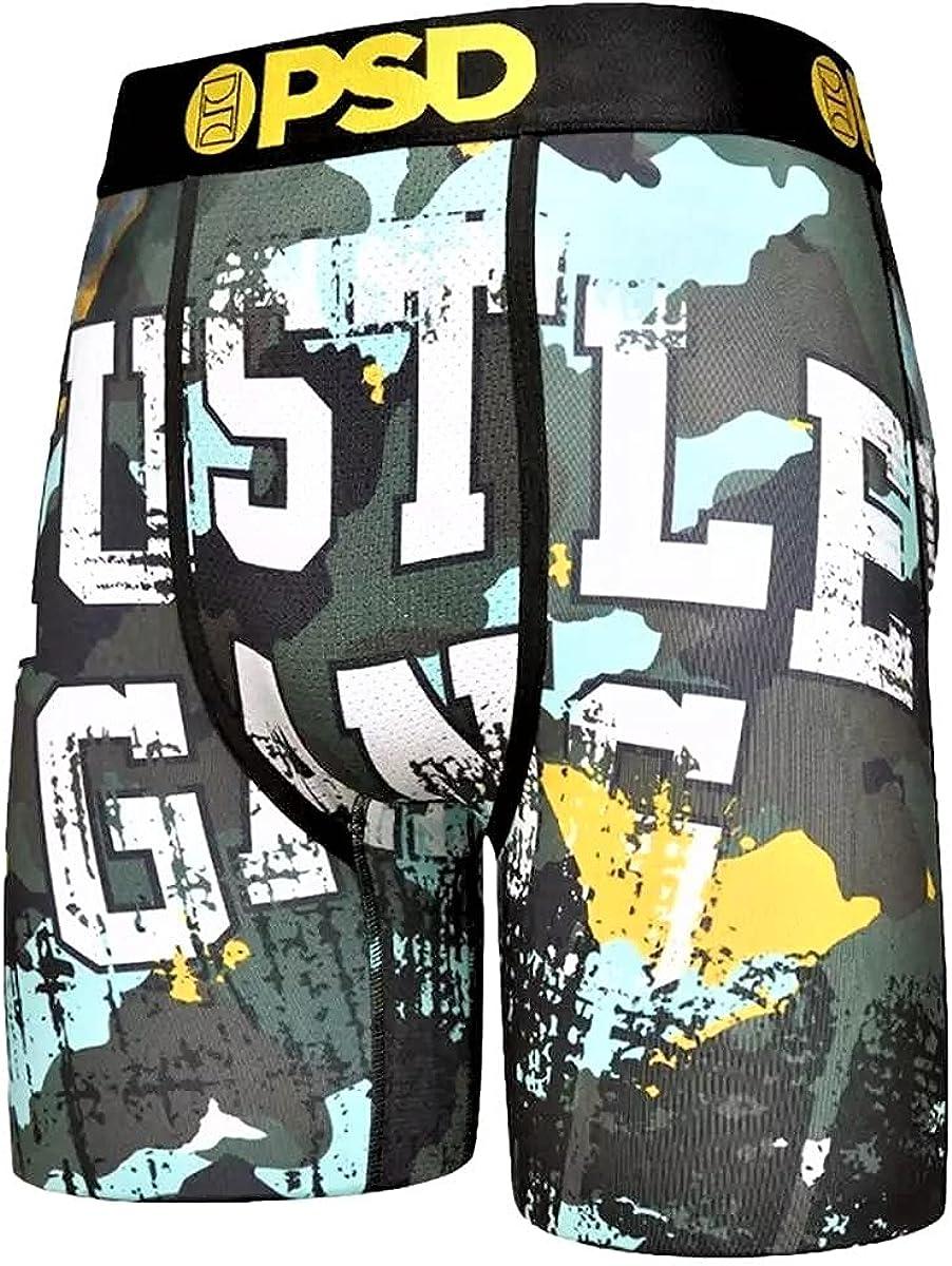 PSD Men's Hg Grunge Boxer Brief Underwear