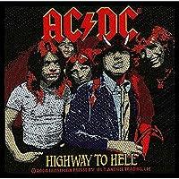 AC/DC エーシーディーシー (初来日40周年) - HIGHWAY TO HELL/ワッペン 【公式/オフィシャル】