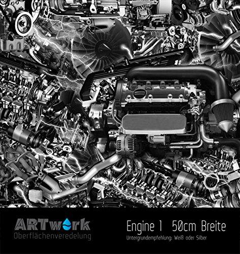 Wassertransferdruck WTD Design Folie ARTwork Engine 50cm Breite