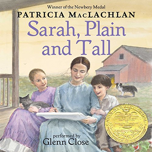 Sarah, Plain and Tall audiobook cover art