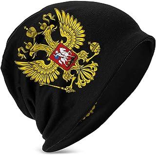 Hdadwy Beanie Caps Rusia Escudo de Armas Gorra de Calavera Sombrero de Tejer Cómodos Sombreros de Punto cálidos para niñas...