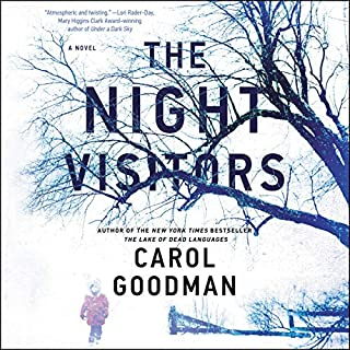 The Night Visitors     A Novel              By:                                                                                                                                 Carol Goodman                               Narrated by:                                                                                                                                 Jane Oppenheimer                      Length: 8 hrs     32 ratings     Overall 4.3