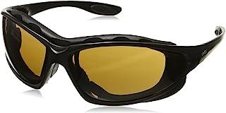 Honeywell S0601X Seismic Safety Eyewear, Black Frame, Espresso tra Anti-Fog Lens/Headband