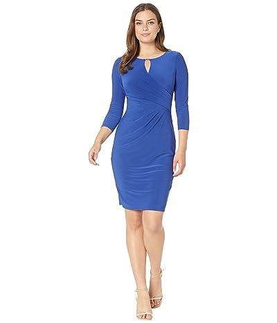 LAUREN Ralph Lauren Wrap Style Jersey Dress