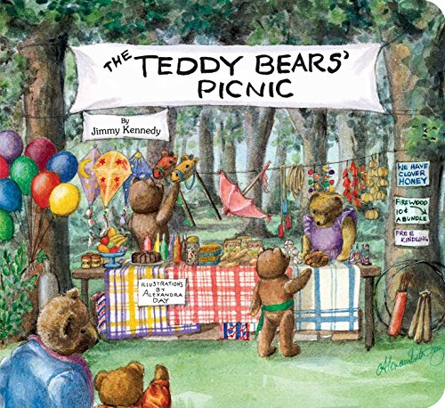 Compare Textbook Prices for The Teddy Bears' Picnic Classic Board Books Brdbk Edition ISBN 9781481422741 by Kennedy, Jimmy,Day, Alexandra