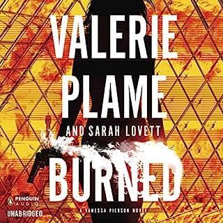 Burned audiobook cover art