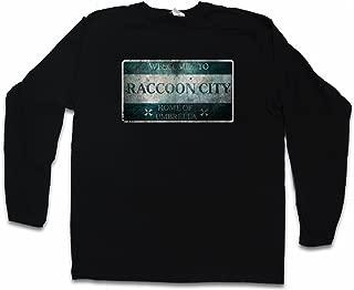 Raccoon City Sign Long Sleeve T-Shirt De Manga Larga