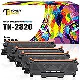 Toner Bank Cartucho de tóner Compatible para Brother TN2320 TN 2320 TN-2320 TN2310 para Brother hl-L2340DW HL-L2300D HL-L2365DW para Brother MFC-L2700DW MFC-L2720DW DCP-L2520DW L2540DN