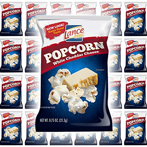 Why Should You Buy Lance White Cheddar Cheese Popcorn .75 (24-Pack)