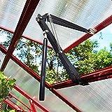 G-More Automatischer Fensteröffner für Gartenhaus Fensterheber für Gewächshaus Temperaturgesteuert Ersatzzylinder 45 cm Öffnungshöhe Hubkraft 7 kg (Automatischer Fensteröffner)