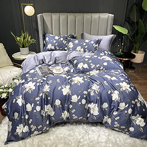 Cactuso Printed Duvet Cover Set Summer Double-Sided Day-19_1.5-1.8 Bed 4 Bed Sheet Clips Long