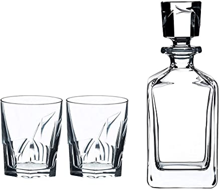 Riedel Louis Whisky Tumblers + Decanter, 5515/02 S2, 2.64 kg, 3 Count