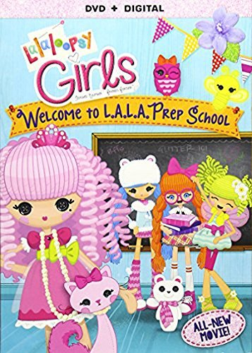 Lalaloopsy Girls: Welcome To L.A.L.A. Prep School [DVD + Digital]