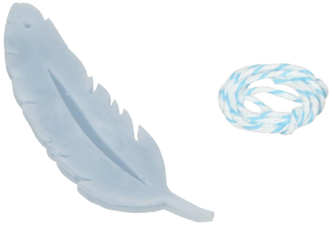 勇敢なアスレチックロイヤリティGRASSE TOKYO AROMATICWAXチャーム「羽」(BL) ローズマリー アロマティックワックス グラーストウキョウ