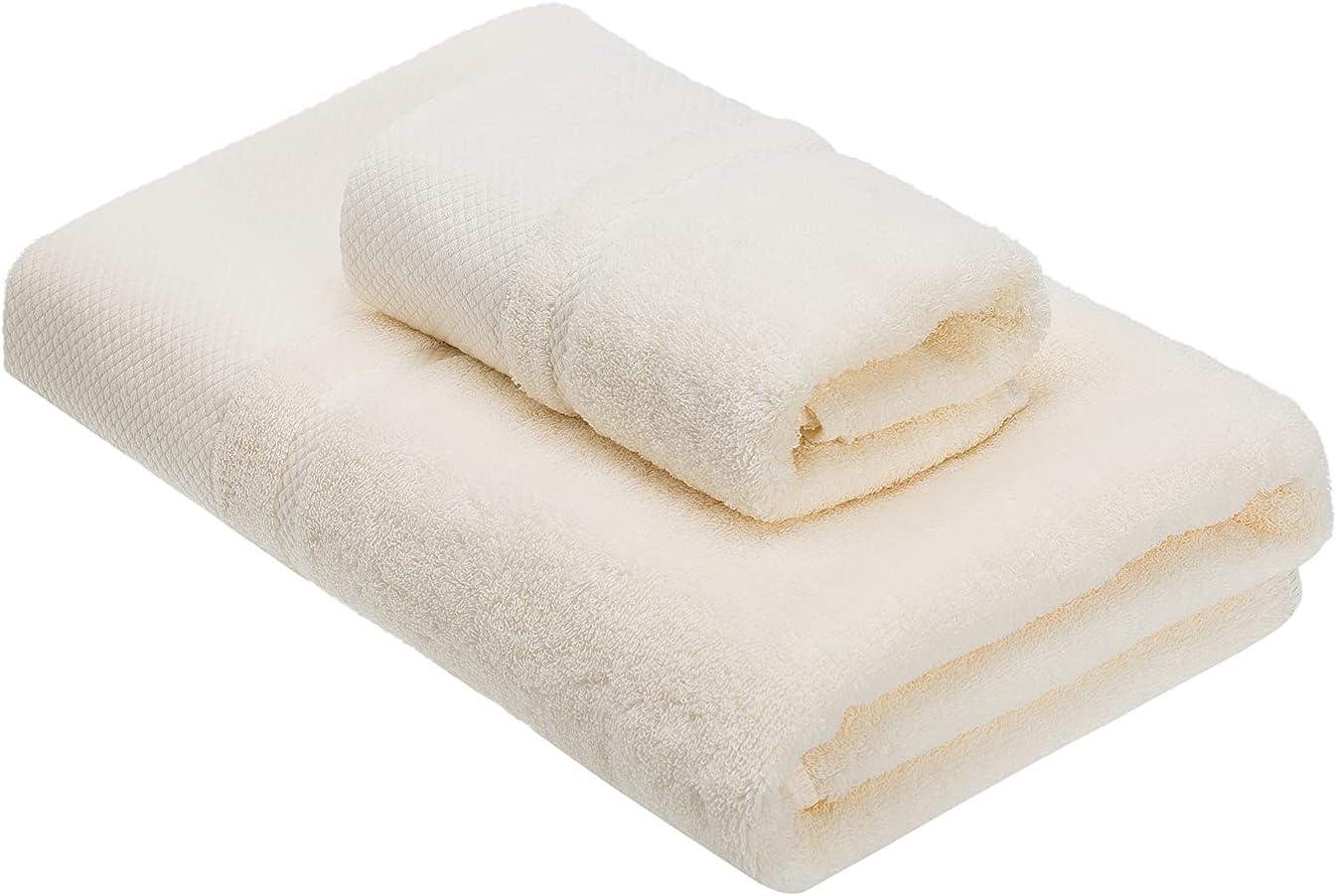 Bath Towel Set of 2 Quick-Dry 1 Beige 100% Ranking Super-cheap TOP14 T Cotton Towels