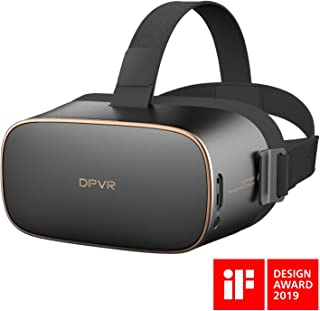 DPVR スタンドアローンタイプ VR ヘッドマウントディスプレイ Personal Cinema 16GB Black [DPVR-P1-16G]