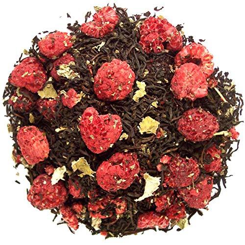 Frambozen thee, zwarte thee, 100 gram losse thee