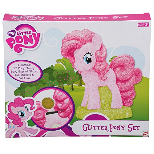 My Little Pony Glitzer Pony Set