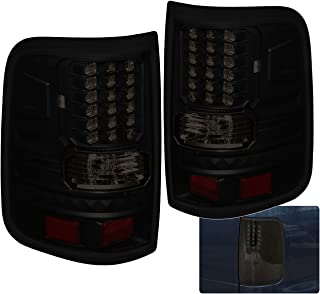 AJP Distributors LED Tail Lights Lamps For Ford F-150 F150 Styleside Body (Smoke)
