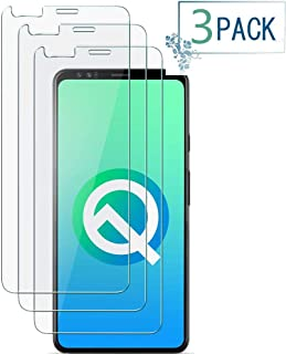 Google Pixel 4 Clear Tempered Glass Screen Protector with 9H Hardness Protector Film [HD Clear][Anti-Scratch] Compatible Google Pixel 4[3 Pack]