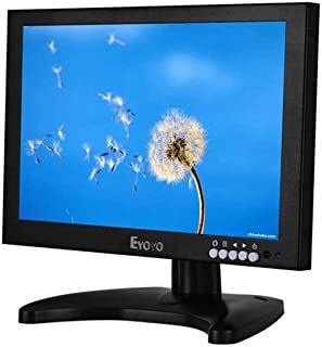 Eyoyo 10 Inch IPS LCD 1920x1200 Full HD Monitor with HDMI/BNC/VGA/USB Function and Speaker for FPV Video Display DVD CCTV ...