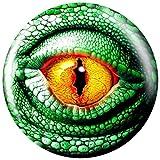 Brunswick Lizard Glow PRE-DRILLED Viz-A-Ball Bowling Ball (10lbs)