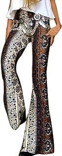 ZEFOTIM Women's Casual Point Stretchy Wide Leg Palazzo Lounge Pants