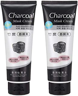 BELLA HARARO Charcoal Mask Peel Off Face Mask Cream Blackhead Remover for All Skin Types (men and women) pack of 2
