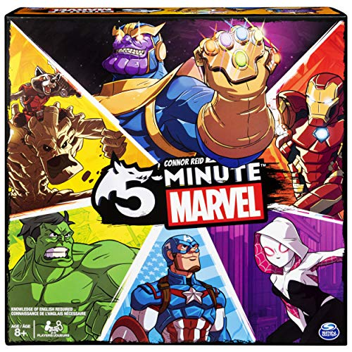 Spin Master Games 5 Minute Marvel - English