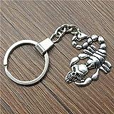 YCEOT Porte-clés Scorpion Porte-clés Scorpion Porte-clés Fournisseur de Livraison de Cadeaux pour Hommes