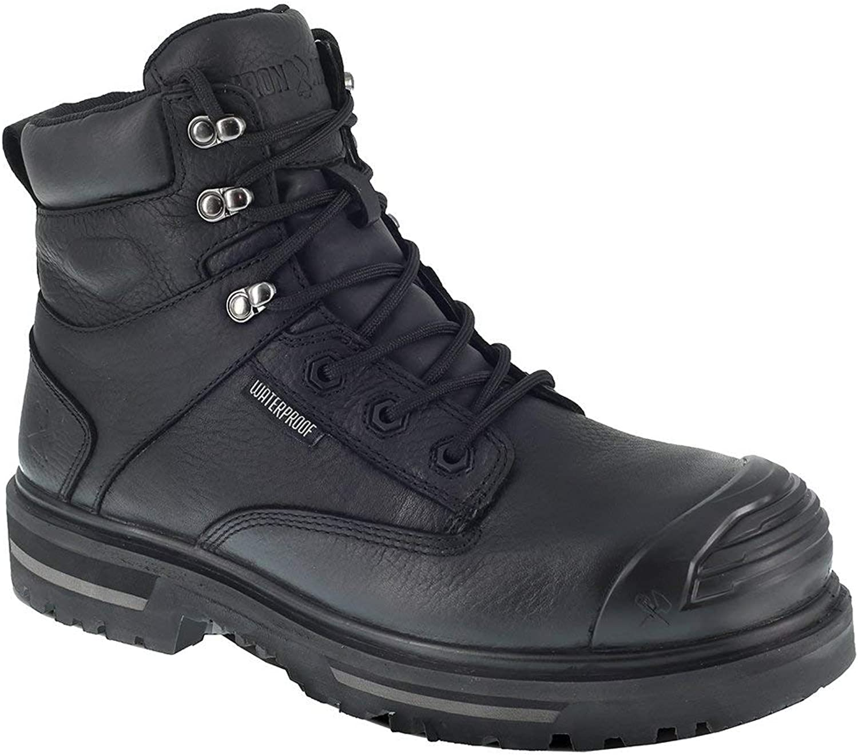 Iron Age Men's Troweler Waterproof Work Boot Composite Toe - Ia0135