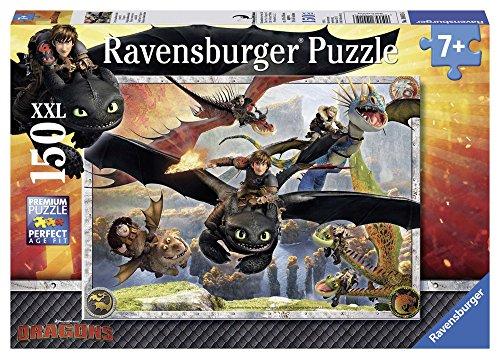 Ravensburger Kinderpuzzle 10015 - Drachenzähmen leicht gemacht - 150 Teile