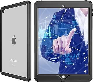 iPad Pro10.5 / iPad air 10.5 2019 通用 防水ケース Ayoii アイパッドカバー 10.5インチ 耐衝撃 IP68防水規格 完全防水 薄型 軽量 全面保護 防水カバー スタンド機能 安心感 ストラップ付き アウトドア お風呂 プール キッチン iPad pro 10.5 (黒)