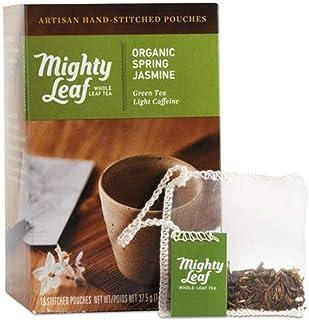MIGHTY LEAF Organic Spring Jasmine Green Tea 15 Count, 15 CT