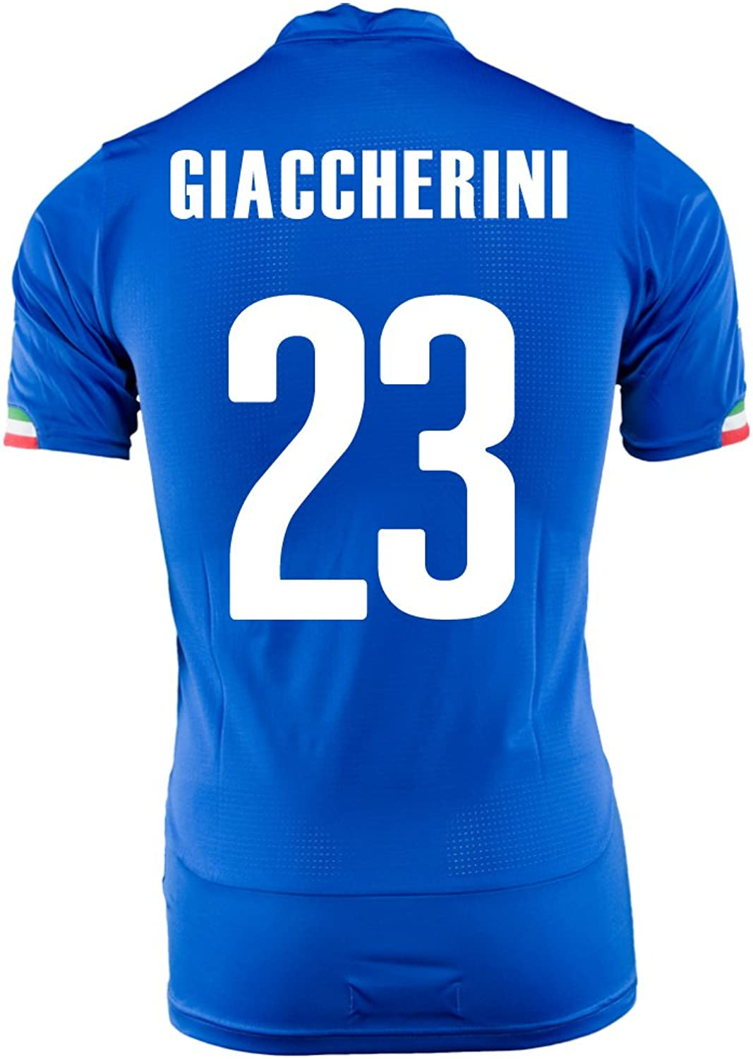 PUMA GIACCHERINI  23 ITALY HOME JERSEY WORLD CUP 2014 (M)