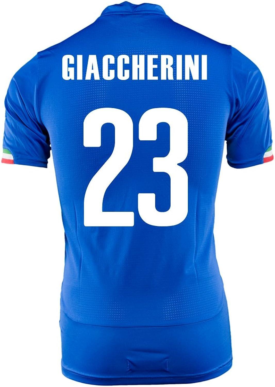 GIACCHERINI   23 ITALIEN HOME JERSEY WORLD CUP 2014 (M) B00JLONTMC  Stabile Qualität