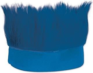 Beistle Hairy Headband, Blue