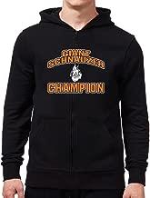 Eddany Giant Schnauzer Champion Zip Hoodie