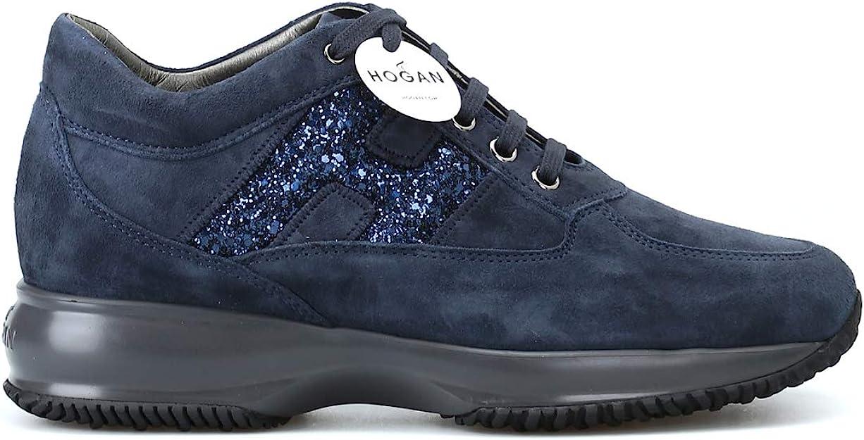 Hogan Luxury Fashion Donna HXW00N0S3609KE1001 Blu Sneakers ...