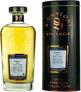 CAOL ILA 2007-12 Jahre - Signatory Vintage Cask Strength Collection 1x0,7l