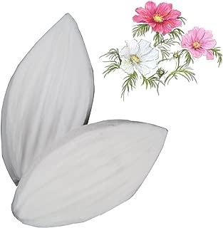 Rita Home Decor 2Pcs/Set Petals of Water Lily Silicone Mold DIY 3D Soap GumPaste Mold Fondant Sugarcraft Mould Set Cake Decorating Tool Bakeware Chocolate Gumpaste Moulds