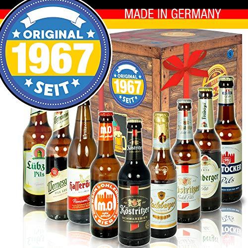 Original seit 1967 - Biersorten Ostdeutsch - Geburtstagsgeschenk für Ihn