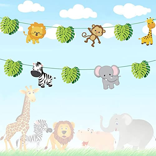 Jungle Baby Shower Decorations Amazon Com
