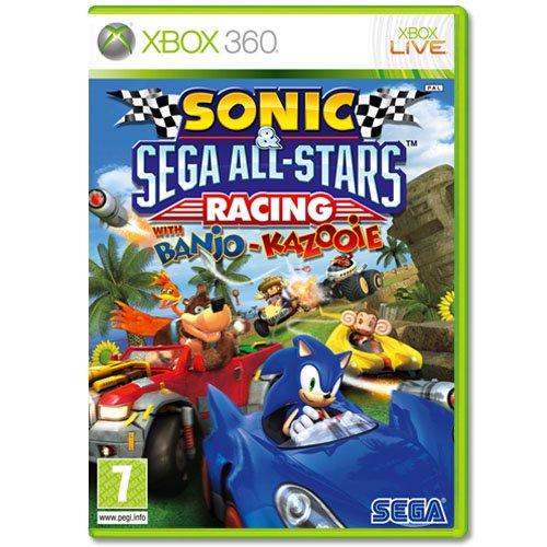Sonic & SEGA All-Stars Racing mit Banjo-Kazooie